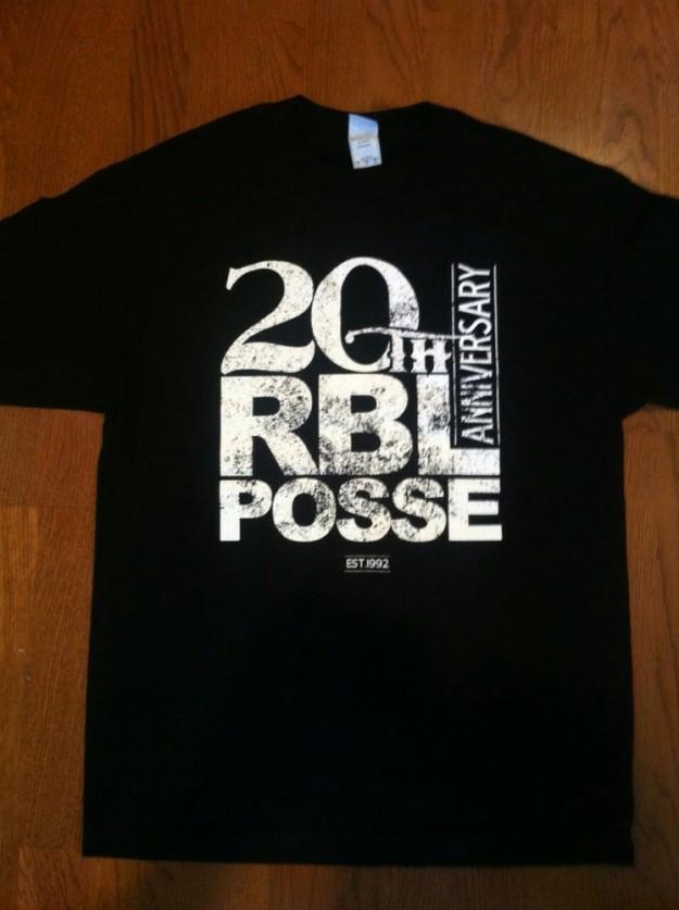 RBL POSSE 20th Anniversary Tee