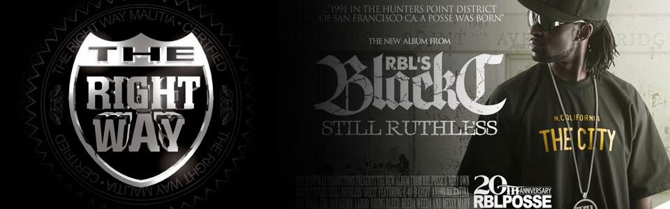 RBL Posse Still Ruthless Black C Banner