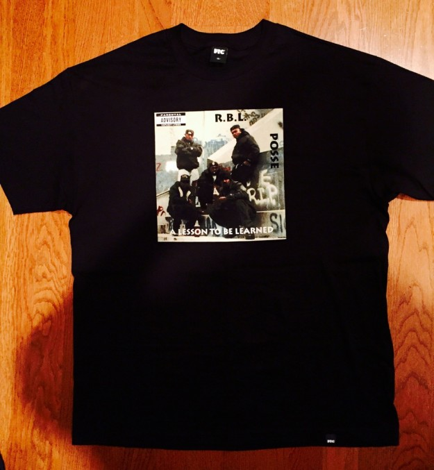 RBL Posse lesson to be learned shirt (Black)