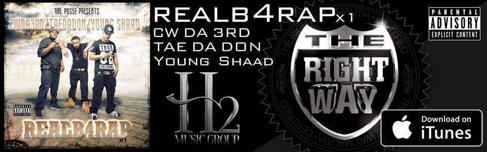 CW Da 3rd - Tae Da Don - Young Shaad - Real b4 Rap x1